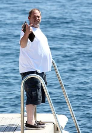 Harvey+Weinstein+Georgina+Chapman+Boat+Cannes+Sn6BZ9Bngyol