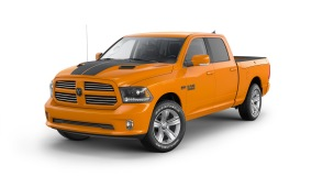2015 Ram 1500 Ignition Orange Sport Crew Cab 4x4