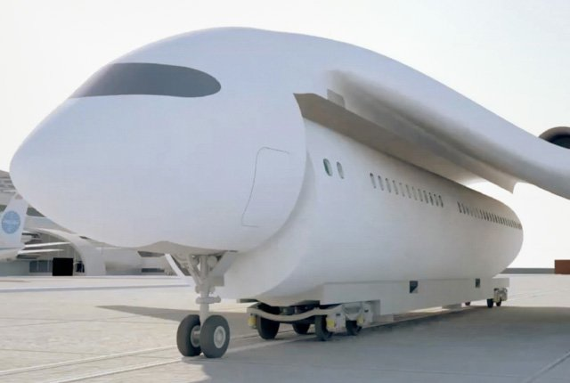 Flying-train
