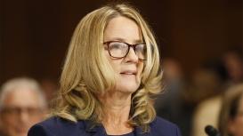 Senate Judiciary Committee hearing on nomination of Brett Kavanaugh to be SCOTUS associate justice, Washington, USA - 27 Sep 2018